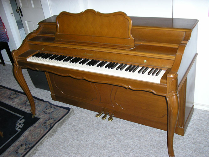 1958 Baldwin Acrosonic Spinet Piano