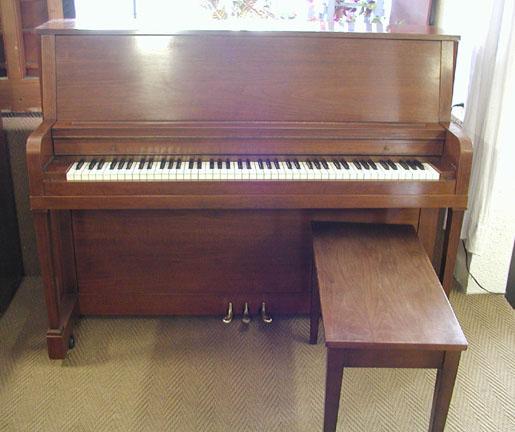 1960 everett 45 studio pianopiano for Smallest piano size