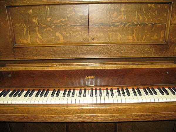 Straube on Upright Piano Parts