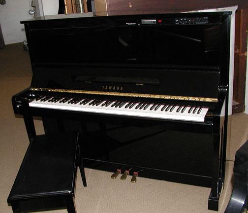 1989 yamaha disklavier 50 upright player piano